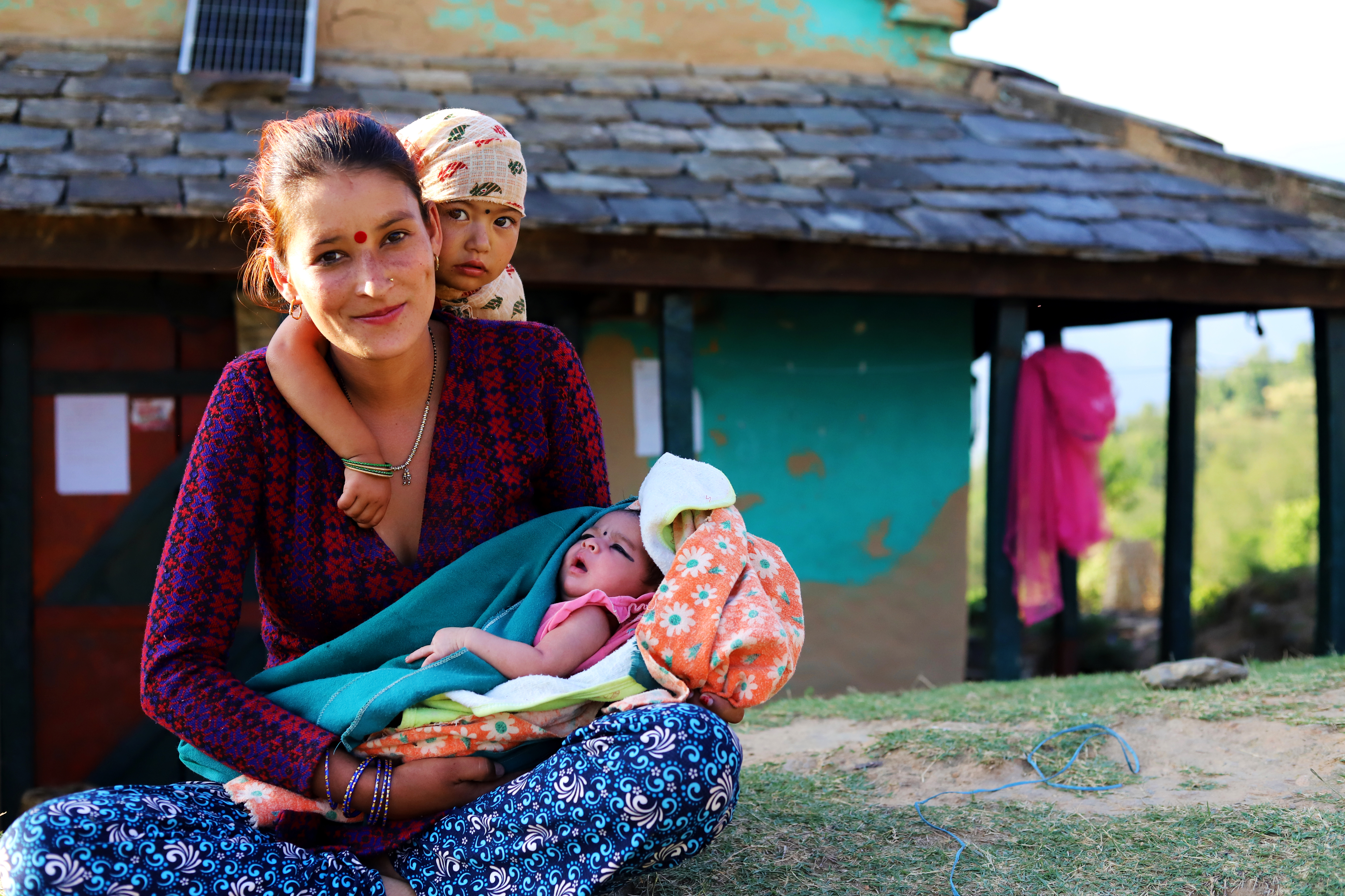 Young Girls in rural Nepal are choosing early marriage to escape poverty and discrimination
