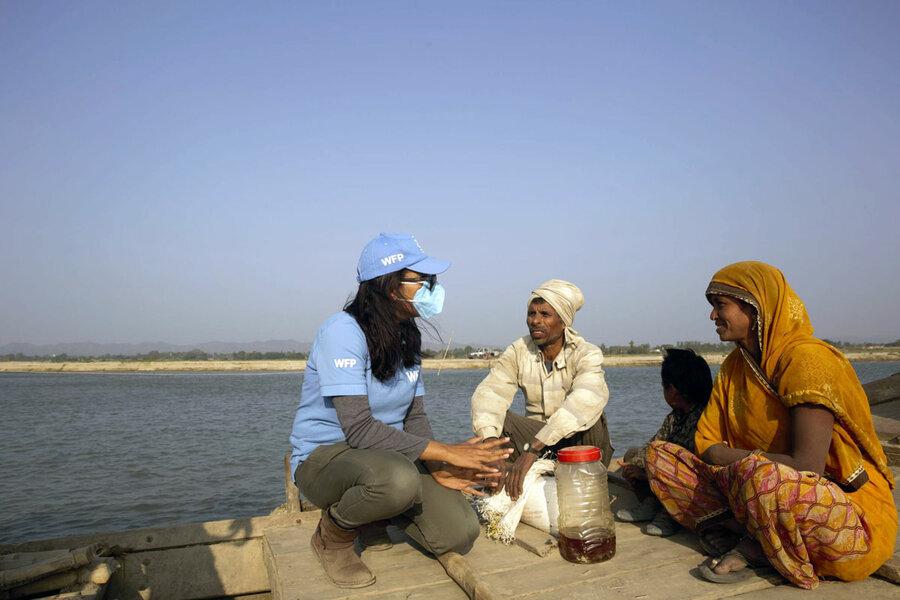 Nepal: WFP helps communities respond to climate shocks