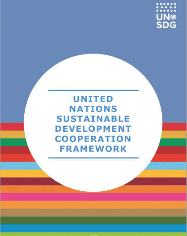 United Nations Sustainable Development Cooperation Framework Guidance