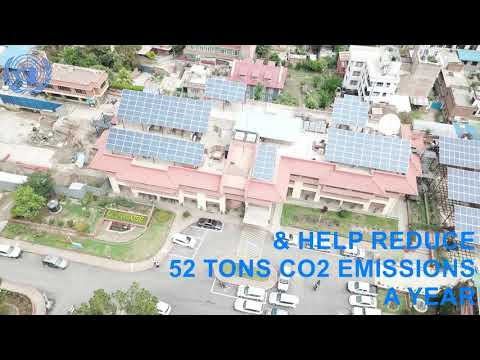 The United Nations Country Office in Nepal Switches to Solar Power