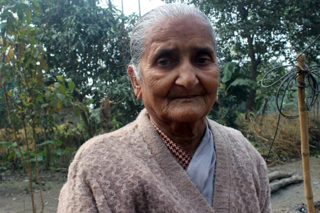 Ratna Khawas has worked for decades to ensure that everyone in her village in Belbari, Nepal has access to toilets.
